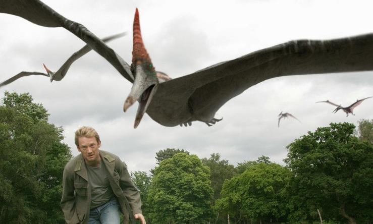 30.Pteranodon attack